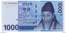 SOUTH KOREA 1000 WON ND(2007) Pick 54a Unc - Korea, South