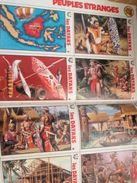 Supplément à SPIROU N° 1907 De 1974 / LES VIGNETTES PEUPLES ETRANGES : LES CANOES DAYAKS - Spirou Magazine