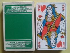 LES ASSURANCES MUTUELLES AGRICOLES SAMDA SORAVIE. Jeu Usagé De 32 Cartes Dans Sa Boite Cartonnée - 32 Cards
