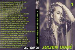 DVD JULIEN DORE ARCHIVES VOLUME 1 CONCERT NOUVELLE STAR - Concert & Music