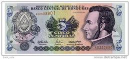 HONDURAS 5 LEMPIRAS 2004 Pick 85 Unc - Honduras
