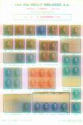 Willy Balasse 1389 - 1391 Auktion 1991 - Auktionskataloge