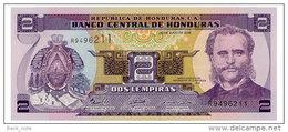HONDURAS 2 LEMPIRAS 2006 Pick 80Ae Unc - Honduras