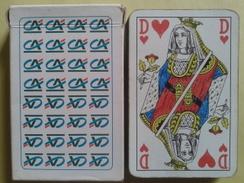 C.A Crédit Agricole. Jeu Usagé De 32 Cartes Dans Sa Boite Cartonnée - 32 Karten
