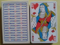 Crédit Mutuel.. Jeu Usagé De 32 Cartes Dans Sa Boite Cartonnée - 32 Karten