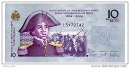 HAITI 10 GOURDES 2012 Pick 272 Unc - Haiti