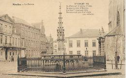 NIVELLES : Le Perron - Avec Couplet VII - Nivelles