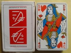 CAISSE D'EPARGNE. Jeu Usagé De 32 Cartes Dans Sa Boite Cartonnée - 32 Karten