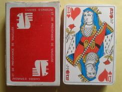 CAISSE D'EPARGNE Et De Prevoyance De Vaucluse. Jeu Usagé De 32 Cartes Dans Sa Boite Cartonnée - 32 Karten