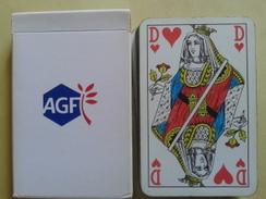 AGF. Jeu Usagé De 32 Cartes Dans Sa Boite Cartonnée - 32 Kaarten