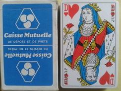 CAISSE MUTUELLE De Dépots Et De Prets. Jeu Usagé De 32 Cartes Dans Sa Boite Cartonnée - 32 Cards