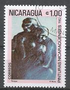 Nicaragua 1982. Scott #1169 (U) Painting By R. Perez - Nicaragua