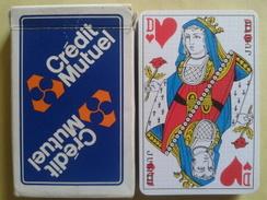 CREDIT MUTUEL. Jeu Usagé De 32 Cartes Dans Sa Boite Cartonnée - 32 Cards