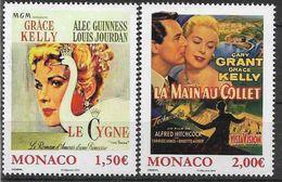 2015 MONACO 2956-57**  Cinéma, Films De Grâce Kelly - Nuovi