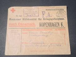 ALLEMAGNE - Enveloppe Croix Rouge De Burg Pour Copenhague En 1916 - L 11197 - Germany