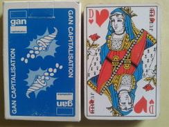 GAN CAPITALISATION. Jeu Usagé De 32 Cartes Dans Sa Boite Cartonnée - 32 Karten