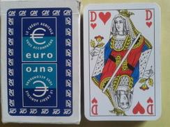 EURO LE CREDIT AGRICOLE Vous Accompagne . Jeu Usagé De 32 Cartes Dans Sa Boite Cartonnée - 32 Kaarten