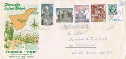 26915. Carta GUIMAR (Tenerife) Canarias 1974. Remite Filatelia PAX De Puerto De La Cruz - 1931-Hoy: 2ª República - ... Juan Carlos I