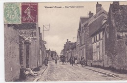 Yonne - Vinneuf - Rue Victor-Guichard - Other Municipalities
