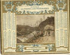(CALENDRIER) ALMANACH 1896 Des Postes Et Telegraphes(  Un Moulin Dans La Creuse) - Calendars