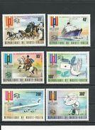 HAUTE-VOLTA  Scott 339-341, C197-C199 Yvert 326-328, PA177-PA179 (6) * Cote 9,75$ 1974 Surcharge - Haute-Volta (1958-1984)