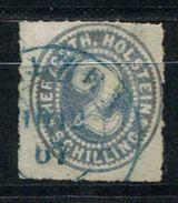 6618 - SCHLESWIG-HOLSTEIN - Mi.Nr. 21 Gestempelt - Siehe Scans  /  Used - See Scans - Schleswig-Holstein