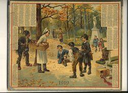 (CALENDRIER) ALMANACH 1919 Des Postes Et Telegraphes(   L Occasion Fait Le Laron)+ - Calendars