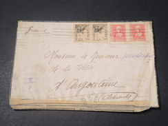 ESPAGNE - Enveloppe Avec Censure De San Sebastien Pour La France En 1939  - L 11204 - Republikanische Zensur