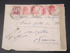 ESPAGNE - Enveloppe Recommandée Avec Censure De Barcelone Pour La France En 1938 - L 11205 - Republikanische Zensur