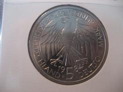 5 Deutsche Mark D 1984 Stage Coach BUNDESREPUBLIK DEUTSCHLAND Good Condition Coin Germany Allemagne - [ 7] 1949-… : RFA - Rép. Féd. D'Allemagne