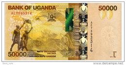 UGANDA 50000 SHILLINGS 2010 Pick 54 Unc - Oeganda