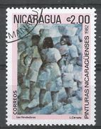 Nicaragua 1982. Scott #1172 (U) Painting By L. Cerrato - Nicaragua