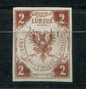 6635 - LÜBECK - Mi.Nr. 3, Ohne Gummi - Siehe Scans  /  W/o Gum - See Scans - Luebeck