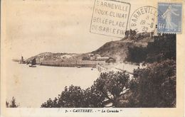 MANCHE 50  -  BARNEVILLE  -  DAGUIN  N° BAR 802 D -  DESCRIPTION  - 1932 - TIMBRE N° 237c TARIF 6.4.32 - Postmark Collection (Covers)