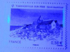 [18] Variété : N° 4562 Varengeville-sur-Mer Deux Restes De Phosphore ** - Errors & Oddities