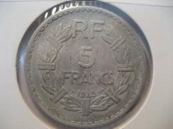 5 Francs 1945 Republique Française FRANCE Coin - France