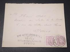 PORTUGAL - Enveloppe De Porto Pour La France En 1891 - L 11217 - Cartas