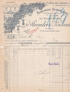Facture Strembler & Loiseau Paris 1914 Serrurerie & Quincaillerie - France