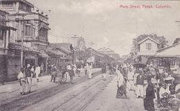 CEYLON CEYLAN COLOMBO Main Street Pettah - Sri Lanka (Ceylon)