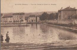 Givors - Vue Du Canal Et Quai Du Bassin - Givors