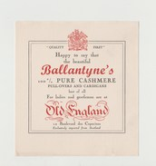 BUVARD BALLANTYNE'S PULL-OVERS AND CARDIGANS - Textile & Clothing