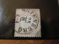 E1179) Kaiserreich O Kleiner Schild ,18 Kreuzer, Gute Nr 11  Nicht Dünn, Klarer K 1 Ortenberg,Mi 500 - Used Stamps