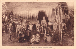 INDO-CHINE COCHINCHINE VIETNAM THUDAUMOT Budop Habitation Moïs Ethnie Ethnique - Postcards