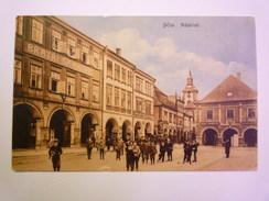 TCHEQUIE  -  JICIN  :  Na Mesti  -  Belle Animation  -  Timbre Autrichien  1913    - Czech Republic