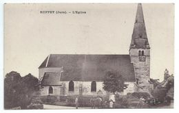 (Jura) CPA  Ruffey Eglise (Bon Etat) - France