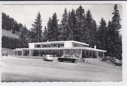 Moléson-Village - Restaurant De La Chaux, Avant La Transformation. Voitures - FR Fribourg