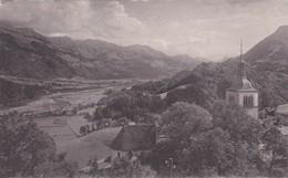 Gruyères - Vue Sur La Vallée De La Sarine - FR Fribourg