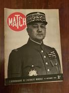 PARIS MATCH  14 SEPTEMBRE 1939 - 1900 - 1949