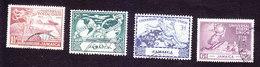 Jamaica, Scott #142-145, Used, UPU, Issued 1949 - Jamaica (...-1961)