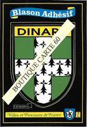 35- DINARD-  BLASON -ECUSSON HERAIDIQUE - Dinard